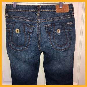 🌼 True Religion Size 29 Bootcut Jeans Tab Pockets